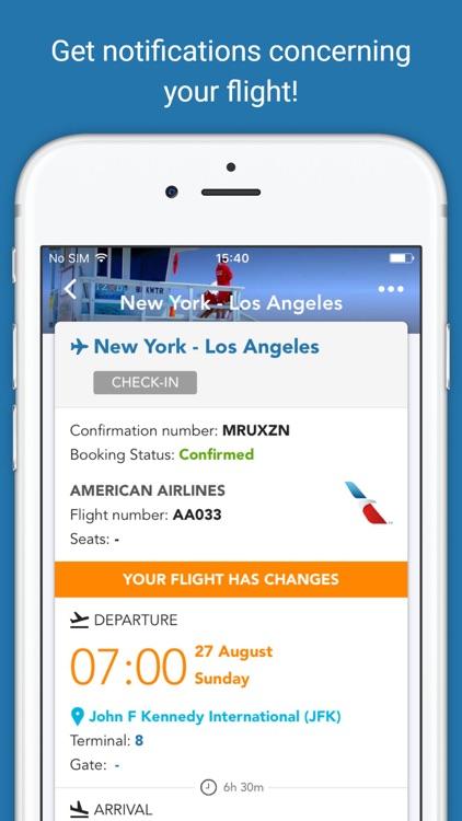 CheckMyTrip – Travel Itinerary