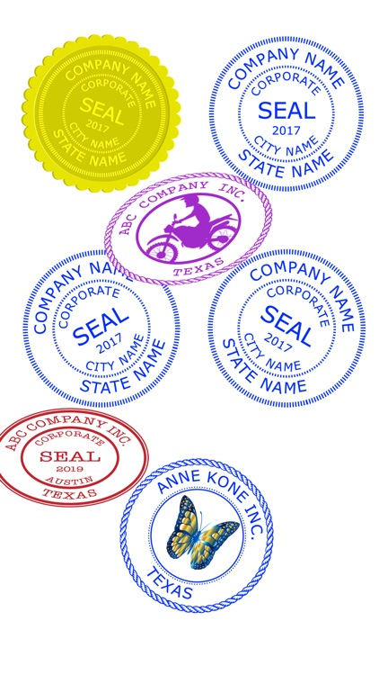 Company Seals screenshot-7
