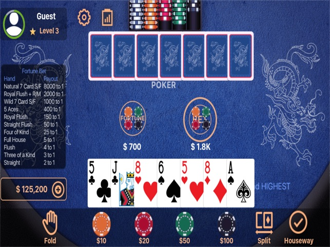 Play fortune pai gow online, free