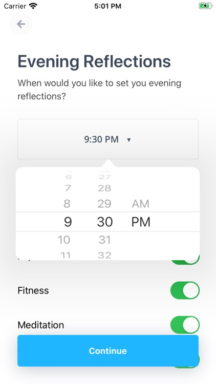 Ponder: Wellness Tracker screenshot-9