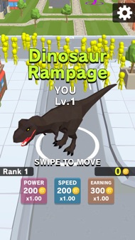 Dinosaur Rampage iphone images