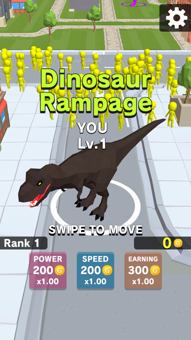 Dinosaur Rampage Screenshot