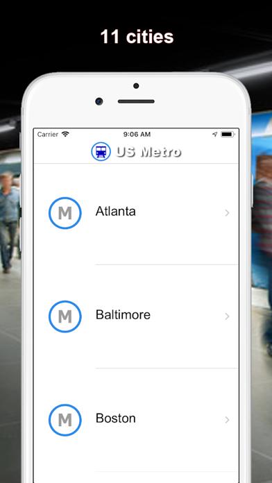 US Metro - Washington, NYC, LA screenshot one