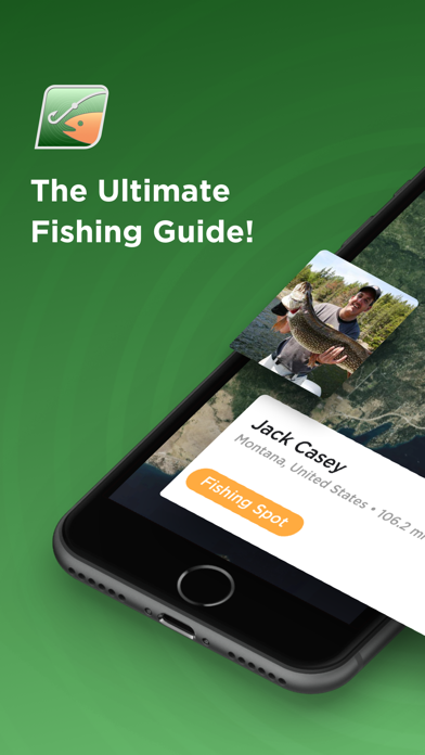 Fishing Spots - Angling Map & Trip Weather screenshot