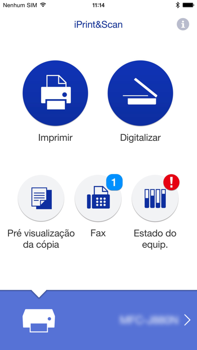Screenshot for Brother iPrint&Scan in Portugal App Store