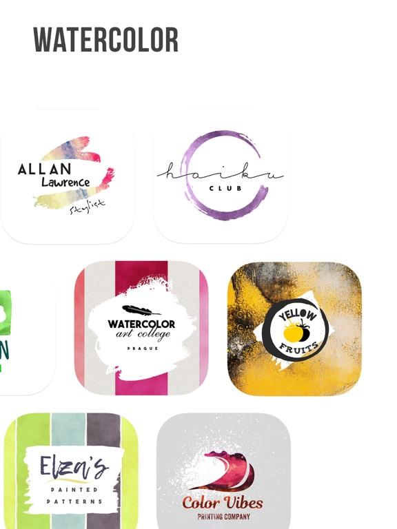 Ipad Screen Shot Logo Maker | Vintage Logo 6