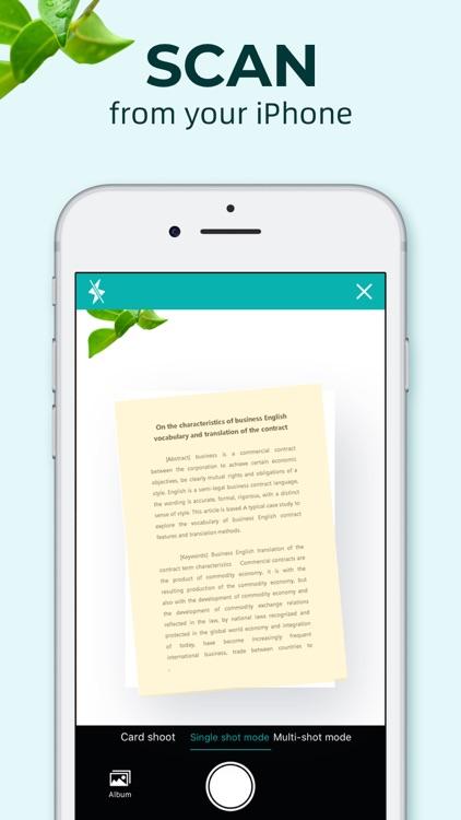 pdf scanner-cam scan app screenshot-3
