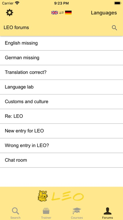 LEO dictionary screenshot-9