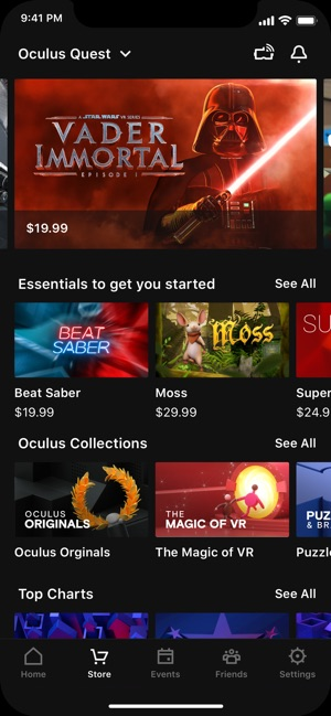 Oculus on the App Store
