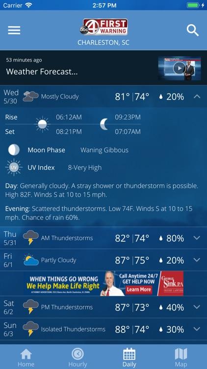 ABC News 4 Storm Tracker screenshot-4