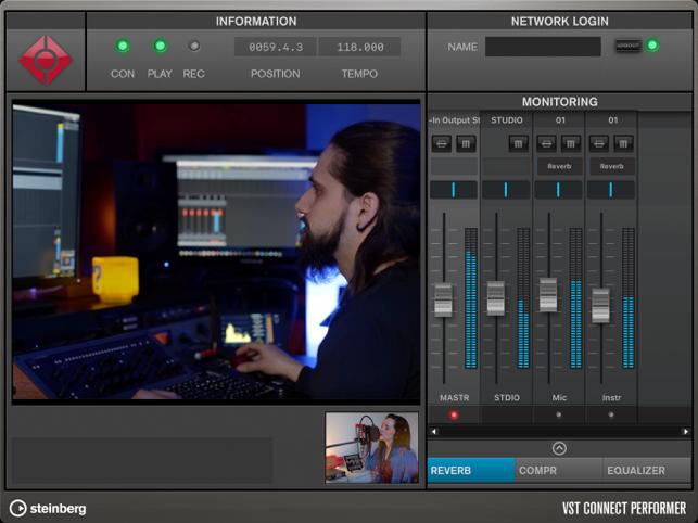 VST Connect Performer Screenshot