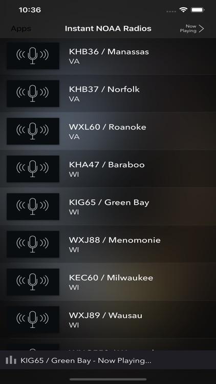 Instant NOAA Radios Elite screenshot-4