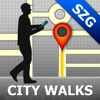 Salzburg Map & Walks (F)