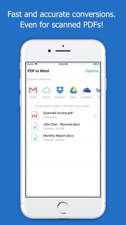 PDF to Word - PDF Converter