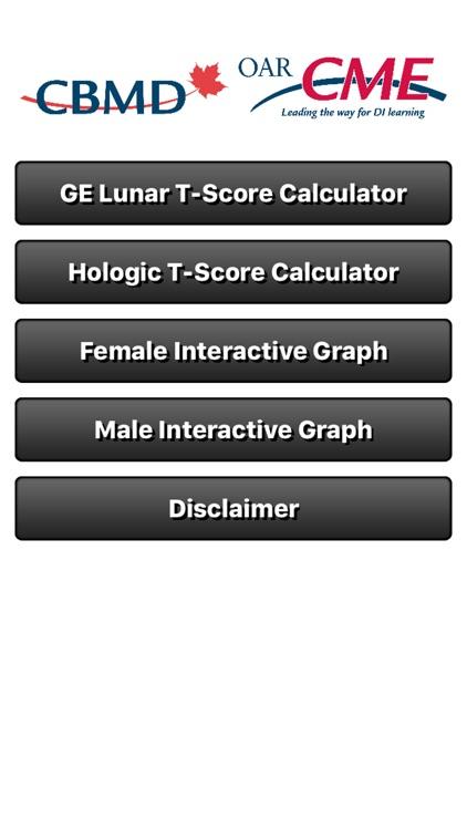 CBMD T-Score Calculator