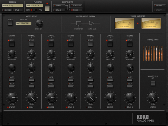 KORG iMS-20 Screenshots