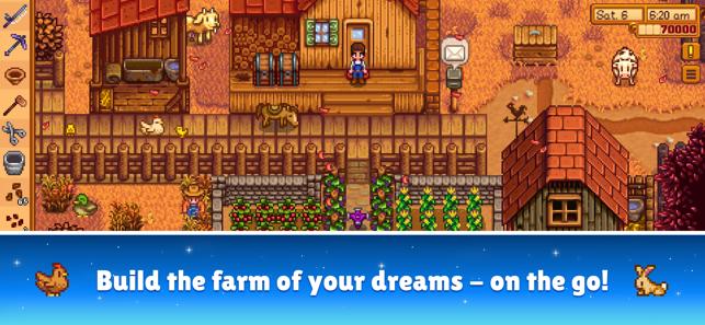 Alex builds his farm game