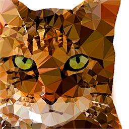 Polygon Art - 3D Image Editor