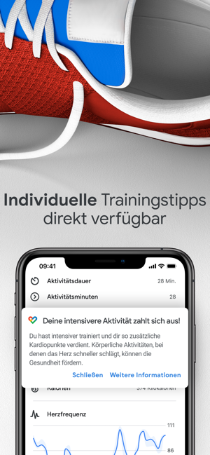 ‎Google Fit – Aktivitätstracker Screenshot