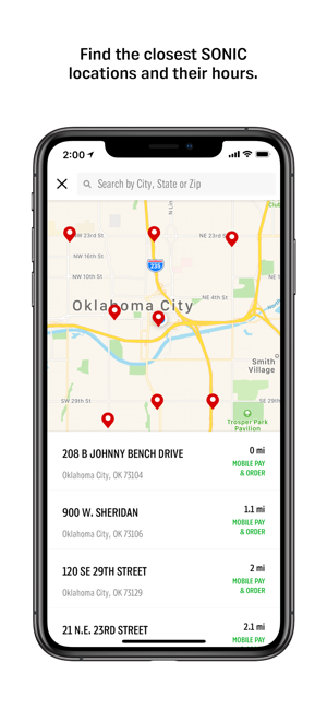 Sonic Hours Near Me >> Sonic Drive In On The App Store