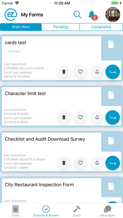 EZFORMS Mobile Forms screenshot-5
