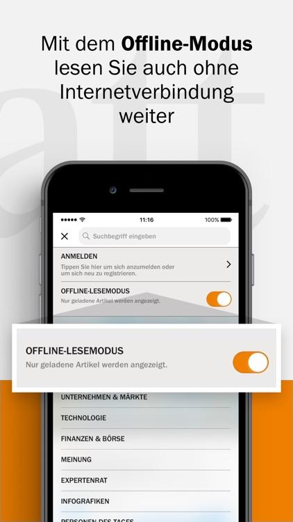 Handelsblatt - Nachrichten screenshot-4