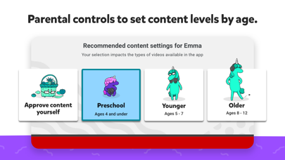 Screenshot for YouTube Kids in Canada App Store