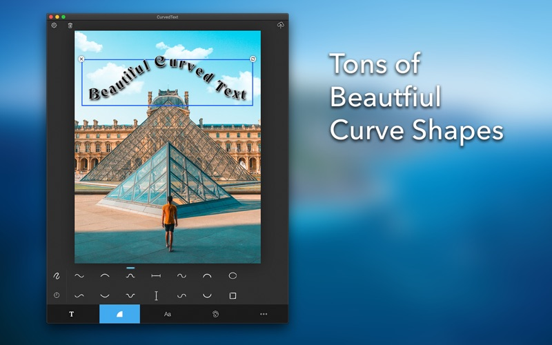 Curved Text for Mac