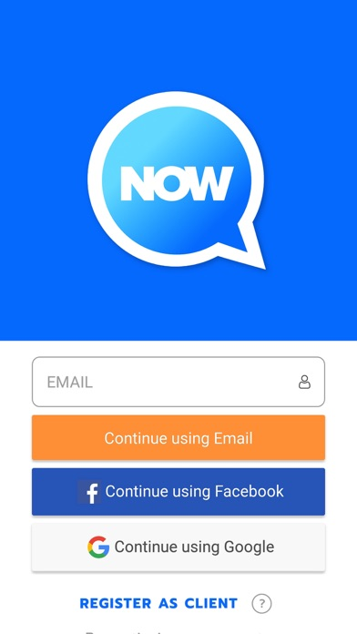 Screenshot for NOW app in United States App Store