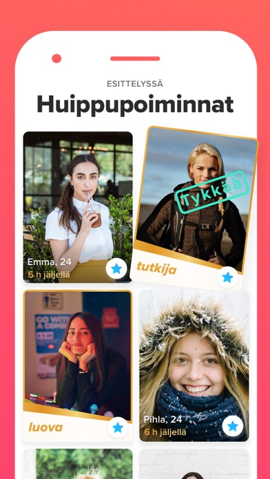 Screenshot for Tinder in Finland App Store