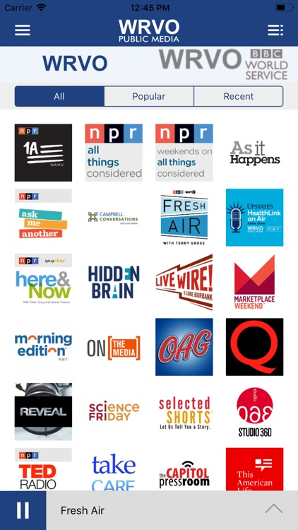 WRVO Public Radio App screenshot-4