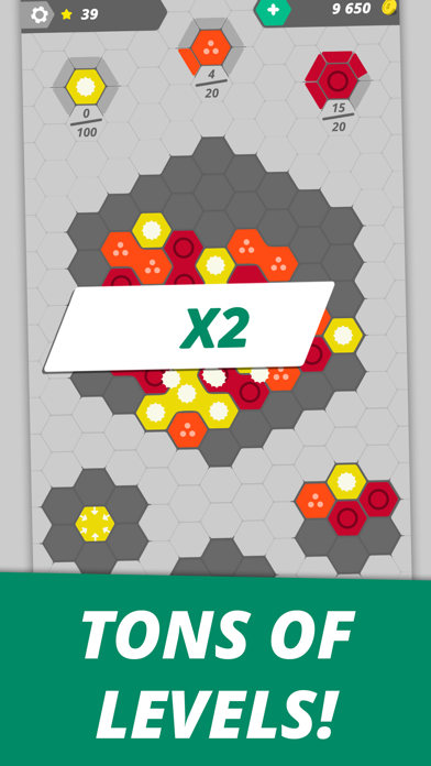 Hexme - IQ & Puzzle game screenshot 4