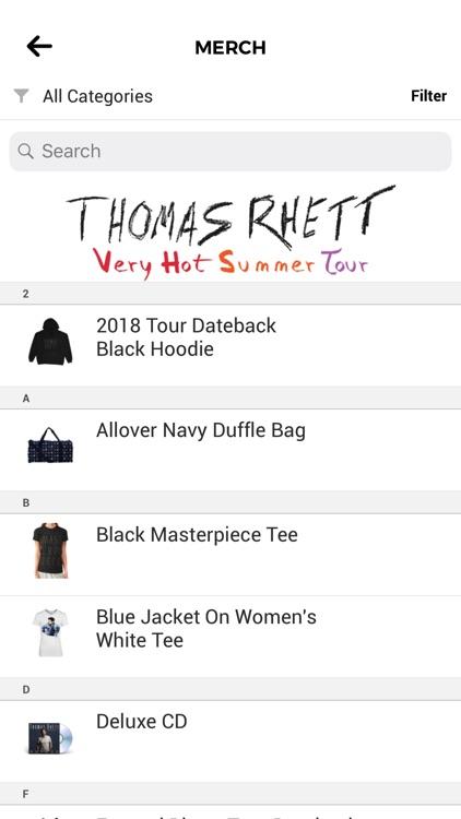 Thomas Rhett's: Home Team App screenshot-3