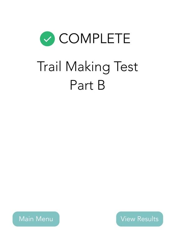 Trail Making Test (Part A & B) screenshot-6