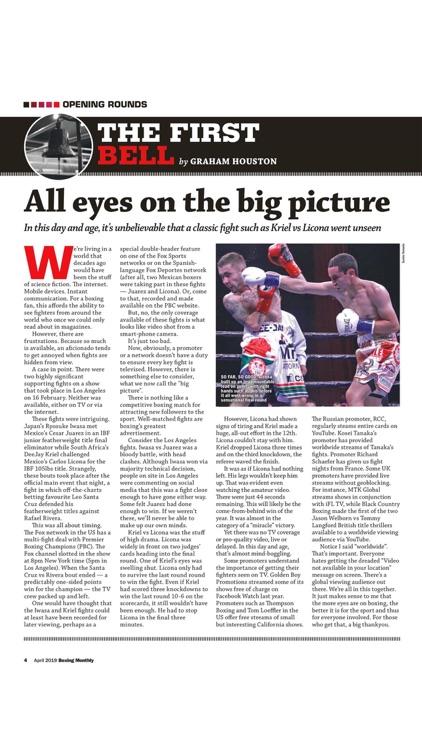 Boxing Monthly Magazine screenshot-3