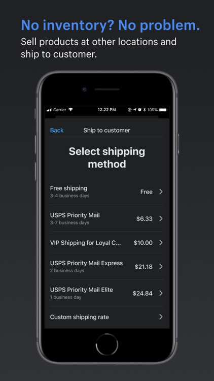 Shopify Point of Sale (POS) screenshot-4