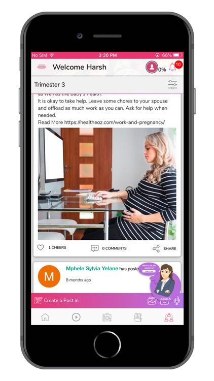 HMom | Pregnancy App screenshot-3