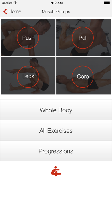 Screenshot for Bodyweight Training: Your Gym in Chile App Store