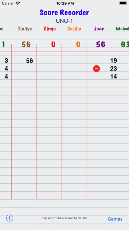 Score Recorder screenshot-4
