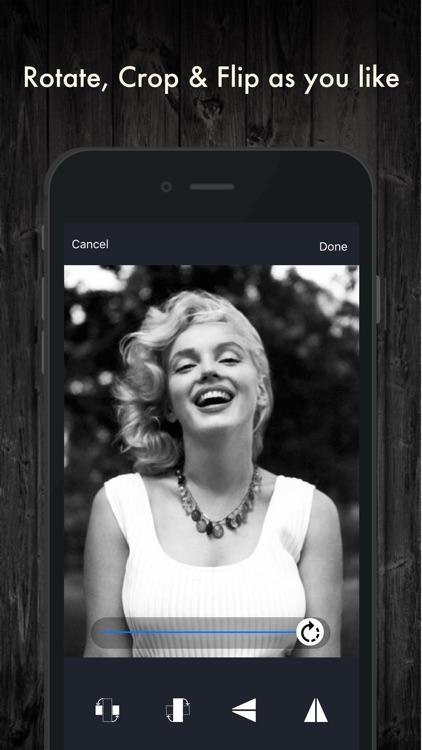 Black & White Photo Effects screenshot-3