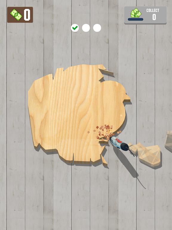 Woodcraft - 3D Carving Game screenshot 9