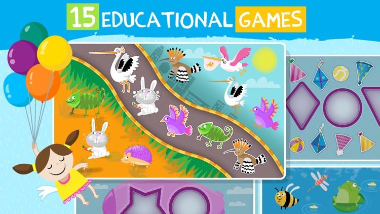 Pre-k preschool learning games