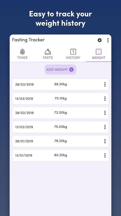 Fasting Tracker - Track fast screenshot-7