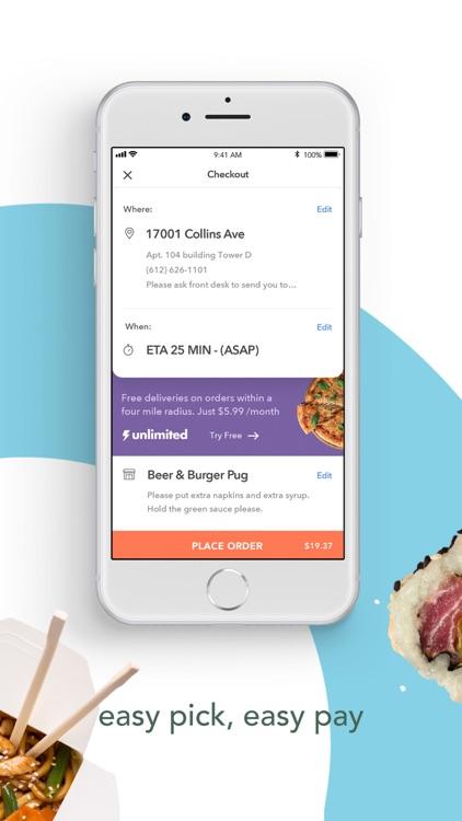 Arrowhead -- Food Delivery screenshot-3