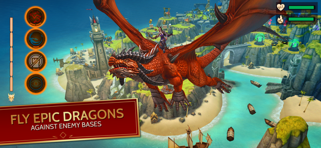 ‎War Dragons Screenshot