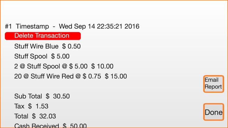 mTotal POS   Cash Register screenshot-4