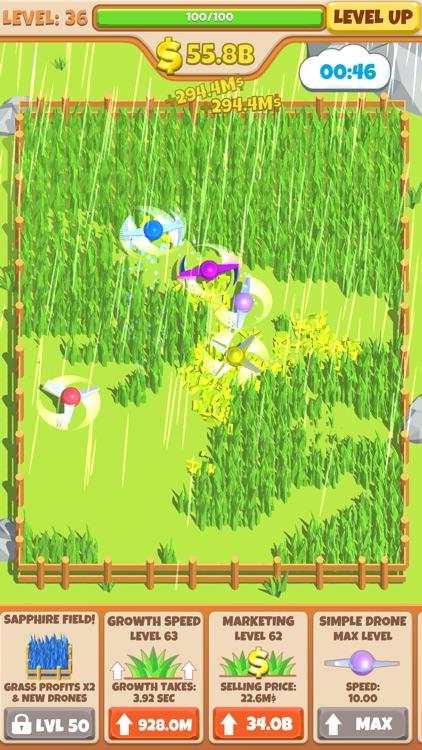 Idle Grass Cutter screenshot-3
