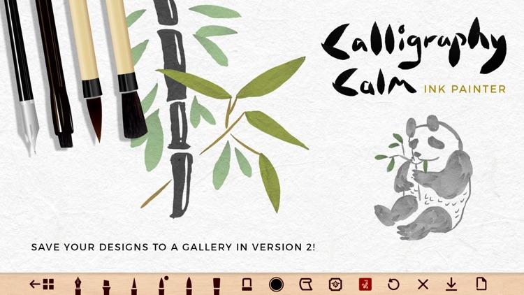 Calligraphy Calm - Ink Brush screenshot-7