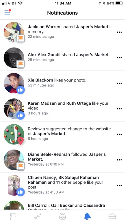 Facebook Pages Manager screenshot-3