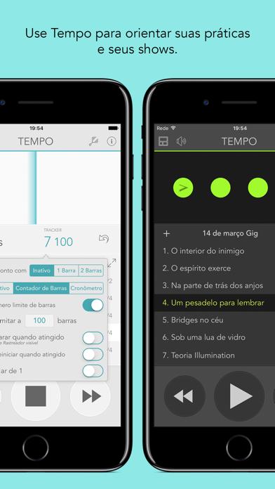 Screenshot for Tempo Metrônomo com Repertório in Portugal App Store